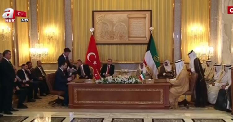 Kuveyt Türkiye İşbirliği İmzaları Törenle Atıldı