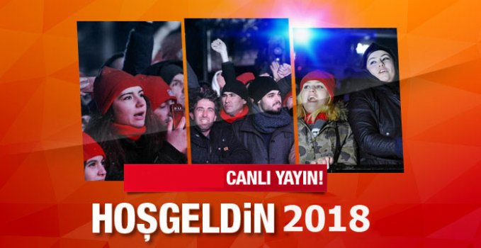 İstanbul Ankara ve İzmir Yılbaşı Kutlamaları Canlı Yayın