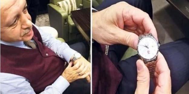 Sır Saatin Sırrı Erdoğan Tarafından Açıklandı
