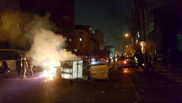 İran Rejim Karşıtı Gösteriler 3. Gününde