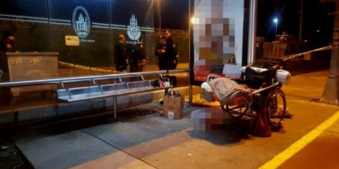 Evsiz Engelli Vatandaş Sokak Ortasında Öldürüldü