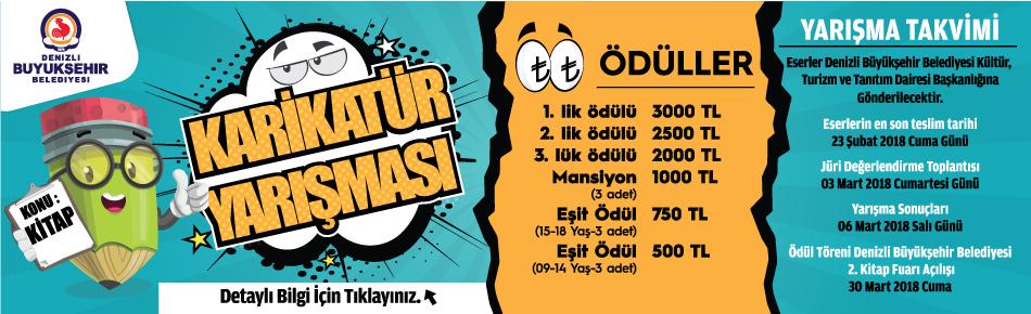 Denizli Büyükşehir Belediyesi Karikatür Yarışması