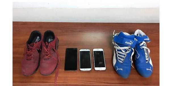 Denizli'de Ayakkabı Hırsızları Yakalandı