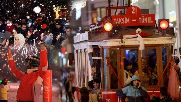 Taksim Ve Çevresinde Hayat Normale Döndü