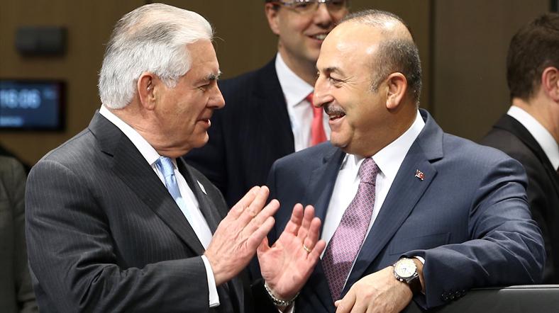 FM Çavuşoğlu ve ABD'li meslektaşı Tillerson Suriye'yi telefonla görüştü