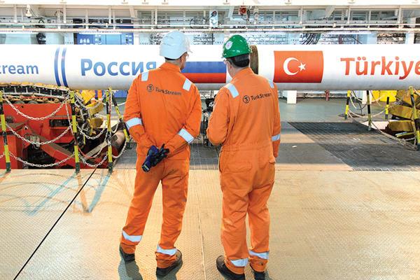 Türkiye 'nin henüz TürkStream kara hattı için izin vermemesi