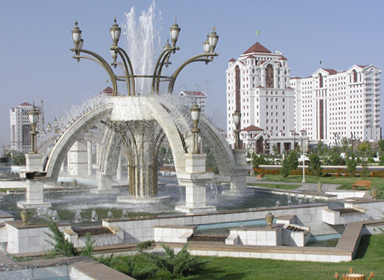 Türkmenistan'da, Aşkabat'ın Berkararlyk ilçesinde yeni konutlar inşa edilecek