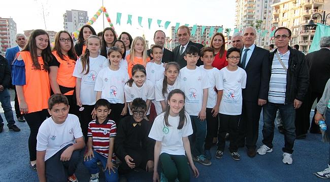 Edirne Belediyesi, çocukları yine unutmadı