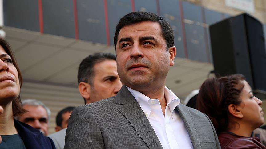 HDP, üst mahkeme Demirtaş'ın dosyasını reddetti