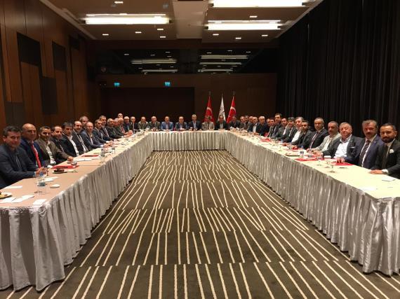 Futbol Altyapı Gelişim Projesi'nin ikinci toplantısı İstanbul'da yapıldı