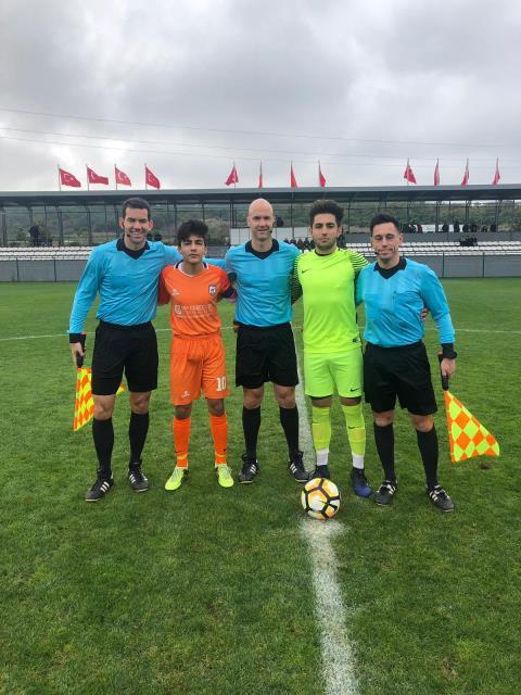 UEFA 3. Video Yardımcı Hakem kursu Riva'da sürüyor