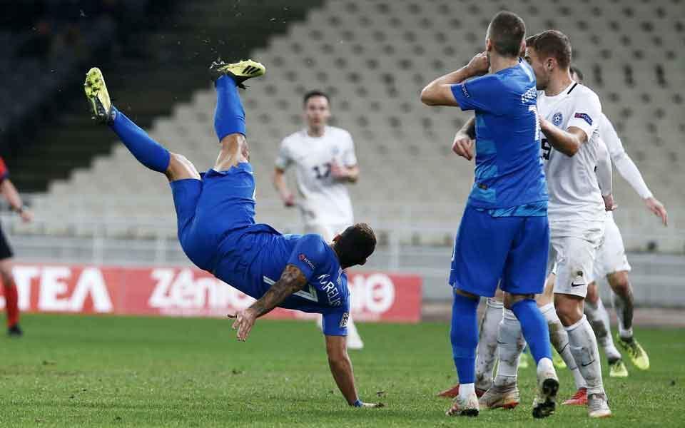 Estonya, Deplasmanda Yunanistan'ı 1-0 Yendi