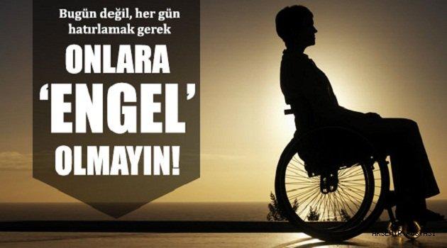 Başkan Zolan'dan Dünya Engelliler Günü mesajı