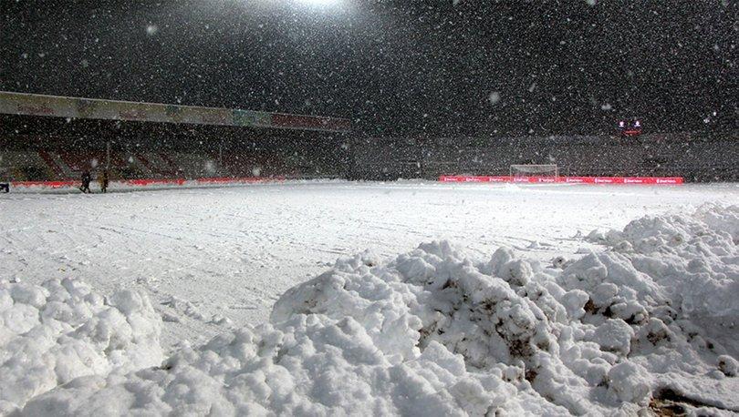 Boluspor-Galatasaray maçı ileri bir tarihe ertelendi