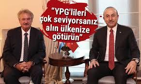 Çavuşoğlu: YPG'lileri çok seviyorsanız ülkenize alın götürün