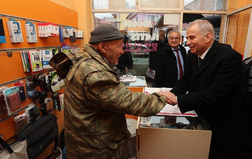 Başkan Osman Zolan'a, Baklan'da sevgi seli