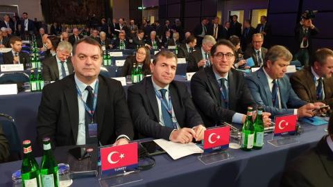 UEFA başkanlığına Aleksander Ceferin yeniden seçildi
