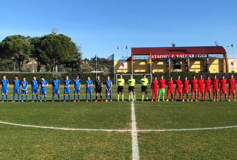 U15 Milli Takımı, İtalya İle 1-1 berabere kaldı