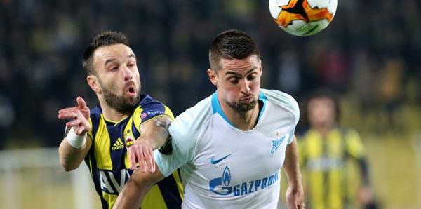 Fenerbahçe – Zenit maçının özeti