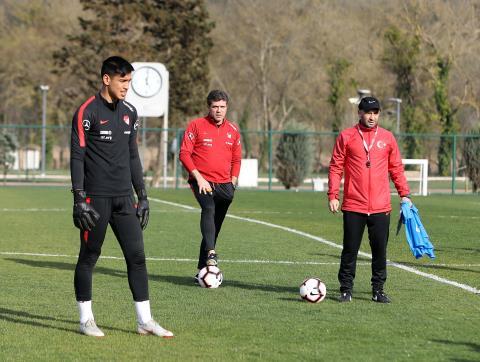 Ümit Milli Takım, Arnavutluk maçı hazırlıklarını sürdürdü