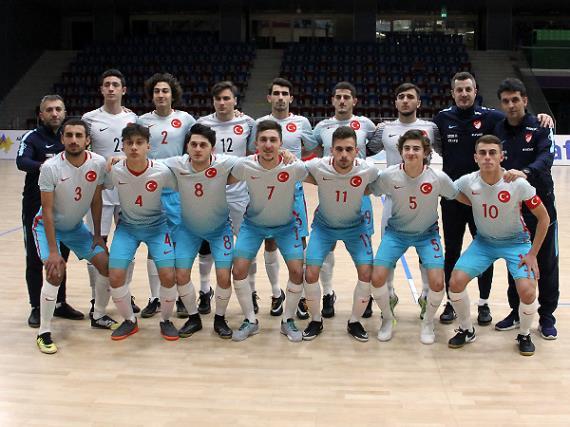 Futsal U19 Milli Takımı'nın Avrupa Şampiyonası Elit Tur aday kadrosu