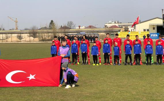 U16 Milli Takımı, Yunanistan'ı 4-1 yendi