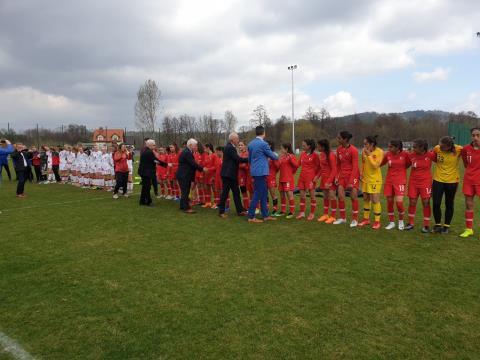 U16 Kız Milli Takımı, Danimarka'ya 2-1 yenildi