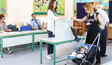 Kıbrıslılar Avrupa seçimlerinde oy kullandılar