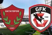 Hatayspor Gazişehir Gaziantep maçı ne zaman? Spor Toto 1. Lig play off finali hangi kanalda?