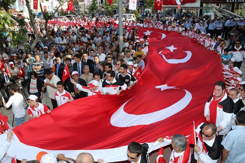Türkiye'de işgale karşı ilk miting Denizli'de yapıldı
