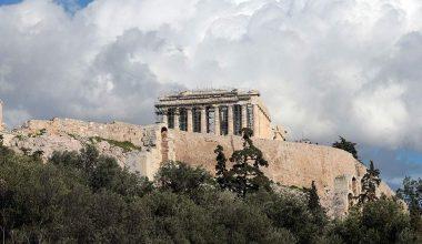 Bilim adamları, iklim değişikliğinin Yunan anıtlarını etkilediğini söylüyor