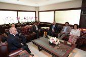 Katar Büyükelçisi'nden Başkan Zolan'a ziyaret