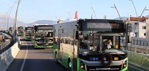 Denizli'de 19 Yeni Otobüs Hattı Açıldı