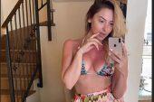 Hadise Makyajsız ve Bikinili Fotoğrafını Paylaştı
