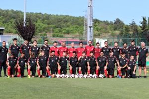 U19 Milli Takımı Kıbrıs Rum Kesimi karşısında