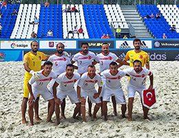 Plaj Futbolu Milli Takımı İtalya karşısında