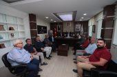 Başkan Osman Zolan'dan Tavas Belediyesine ziyaret