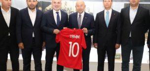 TBMM Parlamenterler Spor Kulübü'nden Nihat Özdemir'e ziyaret