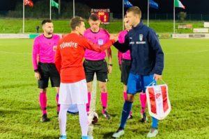 U17 Milli Takımı, İtalya'ya 4-0 yenildi