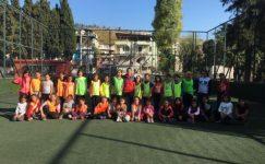 Kadın Futbolu Geliştirme Projesi'nde saha çalışmaları başladı