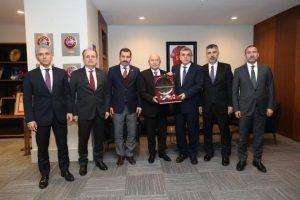 Şanlıurfa Büyükşehir Belediye Başkanı Beyazgül'den Özdemir'e ziyaret