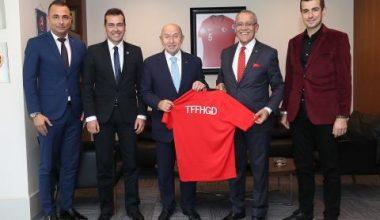 TFFHGD Başkanı Arıcı'dan Nihat Özdemir'e ziyaret