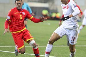 A Milli Takımımız son maçında Andorra'yı 2-0 mağlup etti