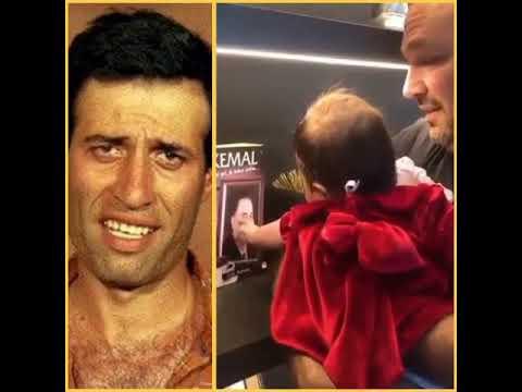 Ali Sunal'ı ağlatan an! Narin bebek dedesi Kemal Sunal'ı Görünce