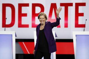 Warren, bağışçı şirketlerini parçalama sözü verdiği için teknik bağışlarda bulunuyor