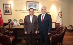 Akdeniz Belediyeler Birliği'nden Başkan Osman Zolan'a ziyaret