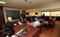 Sağlık ve Gıda Politikaları Kurulu'ndan Başkan Zolan'a ziyaret
