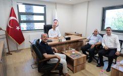 Denizli'de Başkan Zolan, otobüs şoförleri ile bir araya geldi