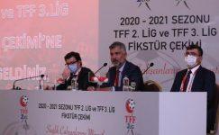 TFF 2. Lig ve TFF 3. Lig fikstür çekimi yapıldı