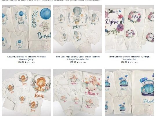 Bebek ve Çocuk Ürünlerinin Popüler İsmi: Uniqon